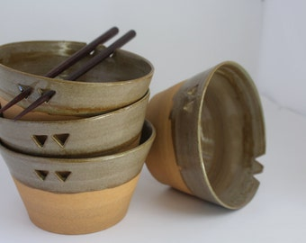Set of 4 Rice Bowls
