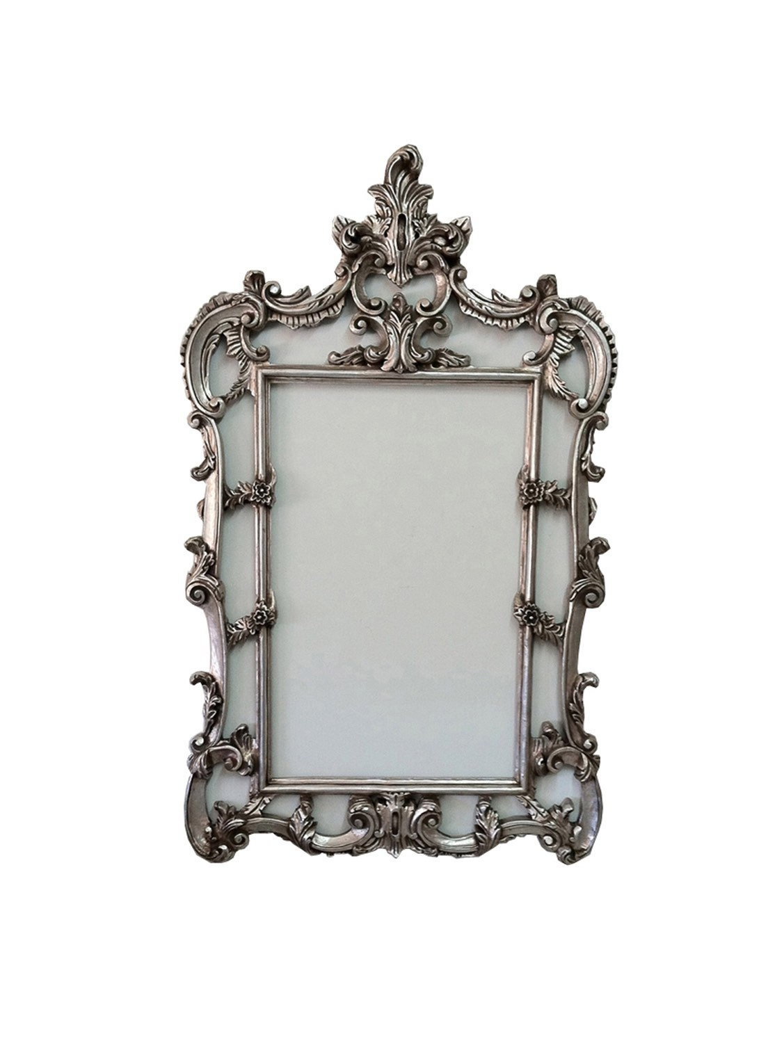 Shabby chic frame for mirror french baroque frames wall for Baroque mirror canada