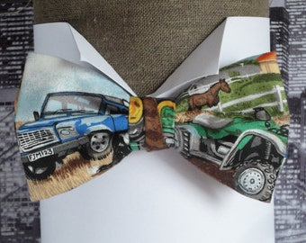 Bow tie, 4x4 and quad bow tie, pre tied bow tie, bow ties for men