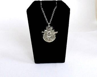 air cadet necklace, canada necklace, royal canadian air cadet necklace