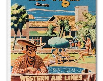 Las Vegas Art Vintage Poster Print Canvas Hanging Wall Decor xr877