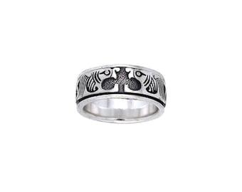 Celtic Spinner Ring