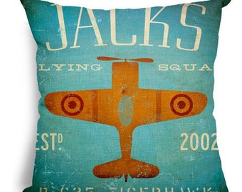 Jacks Flying Squad - Pillow Cover