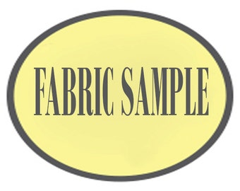 Individual Fabric Sample