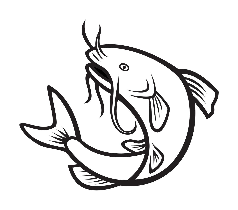 Catfish Decal Vinyl Decal Fishing Di Cut Decal
