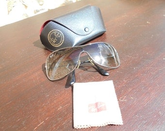 Vintage Bausch & Lomb RAY-BAN Wings Aviator Sunglasses