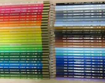 Staedtler Karat 124 watercolor pencils