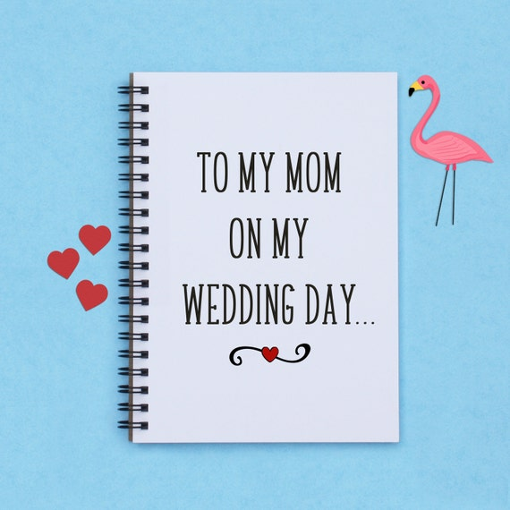Gift For Mom On Wedding Day : gift for Mom, To My Mom on My Wedding Day, 5