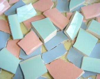 Mosaic Tiles - LURAY Pastels china mosaic tiles