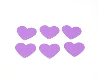 purple heart confetti, heart confetti, wedding confetti, party decor, confetti