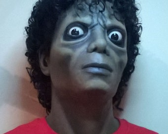 Michael Jackson Thriller Bust Figure Zombie 1:1 Lifesize 1983 video prop stand