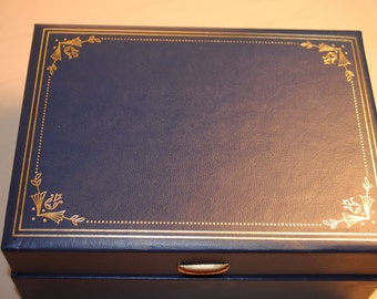 Jewelry Box by Mele BLUE GREAT Conditions And Tag