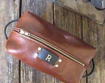 Items Similar To Small Toiletry Bag Men S Dopp Kit