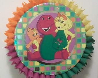 Barney and Friends Pull String or Hit Pinata (B)
