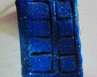 DOCTOR WHO inspired River Song TARDIS Journal pendant