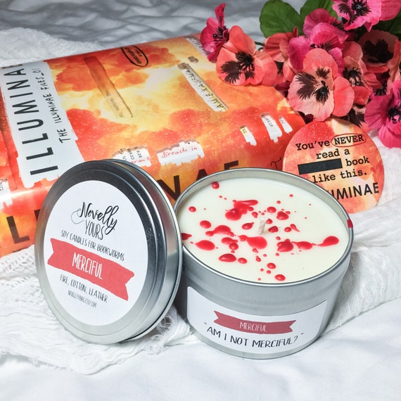 Merciful | 8oz tin | Illuminae Inspired Soy Candle