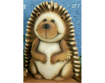 Ceramic Hedgehog ready to paint | Hedgehog | You paint | Ceramic bisque | NOT PAINTED