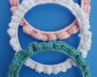 Cute little crochet bangle