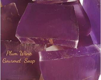 Plum Wine Gourmet Soap