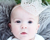 Miss Mia, silver thread crown, different color options, delicate crown. American girl crown, doll crown