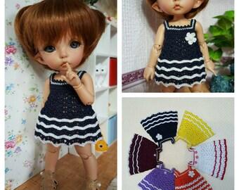 Crotched dress for Lati Yellow / Pukifee (deep blue)