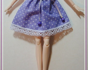 Strapless dress - size pullip