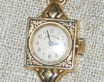 REDUCED  - 14KT Lady Elgin watch and bracelet