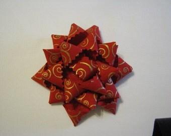 Fabric Christmas bows