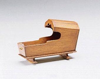Dollhouse Miniatures 1:12 Scale ROCKING CRADLE Kit #HW13009