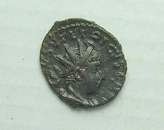 TETRICUS II; Ancient Roman Emperior; Bronze Coin
