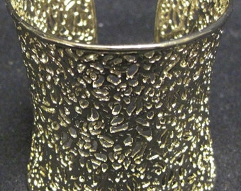 AINSLEY SILVER FILIGREE Cuff Bracelet from the Signature Collection