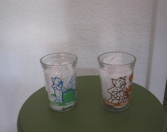 Welch's Jelly Glasses Tom and Jerry 2