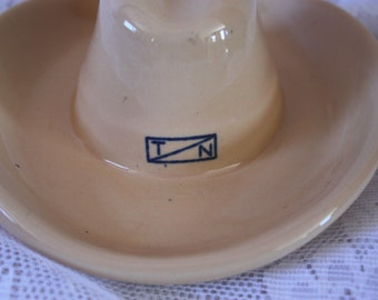 Vintage Cowboy Hat Ashtray - western decor - vintage ashtray