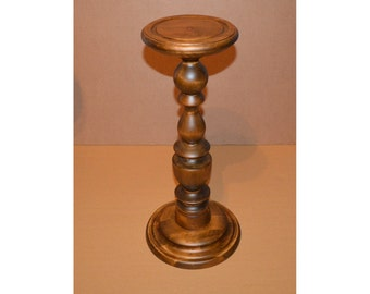 small pedestal table etsy. Black Bedroom Furniture Sets. Home Design Ideas