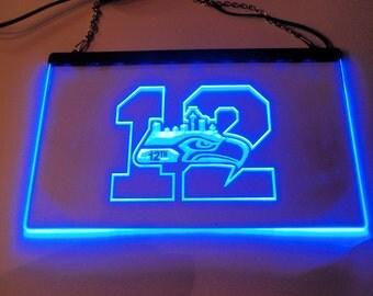 Seattle Seahawks # 12 Light