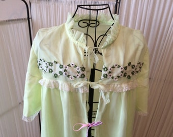 Vintage Lime Nightgown