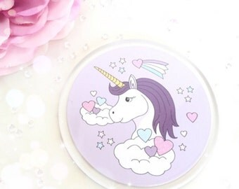 Lilac Unicorn Love Coaster...