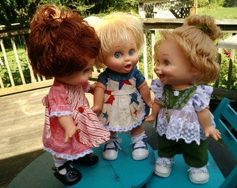 """PDF Instant Dowload for 13"""" Baby Face Dolls"""