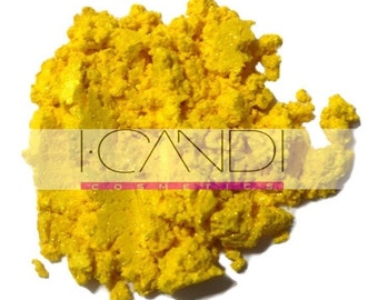 Bumble Bee, bright yellow mineral eye shadow, Large 10g jar