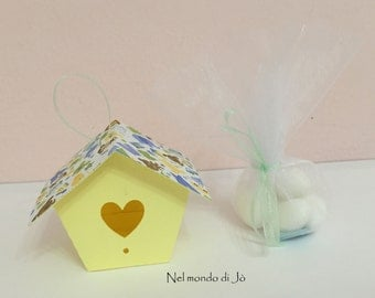 "Favor box ""Home sweet home"""