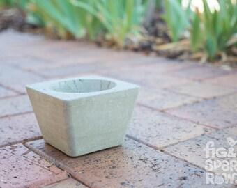Concrete Pot Plant -- Succulent Plant, Home Decor, Interior Decorative Plant, Urban, Industrial, Wedding, Cement Pot, Trending Decor