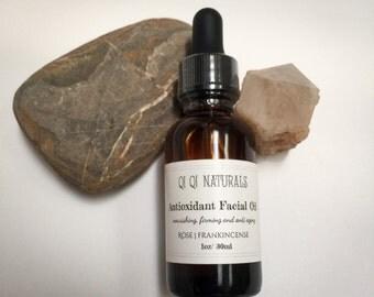 Antioxidant Facial Oil- Luxury face oil, Anti Wrinkle Firming Serum