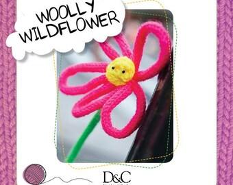 Woolly Wildflower Knitting Pattern Download 803233