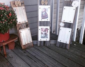 6x24 Reclaimed Barnwood picture frame