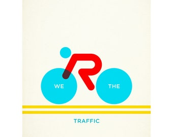 We 'Are' The Traffic (day) 40 x 50cm giclee print
