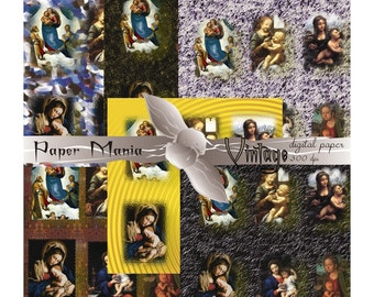 Renaissance Art, Renaissance Digital Paper, Renaissance Paper, Renaissance Backgrounds, Renaissance Pattern, Scrapbook Paper, Downloadable,