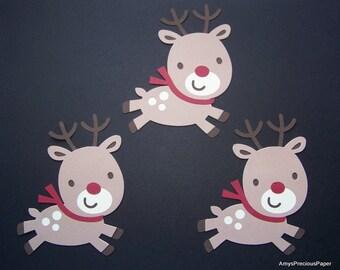 Rudolph reindeer die cuts