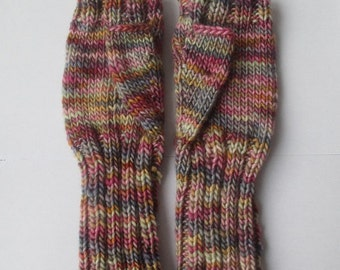 Merino & silk blend gloves