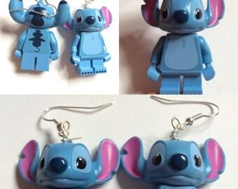 Lego Disneys Stitch Earrings