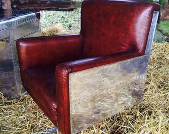 Pilot Falcon Leather Chair